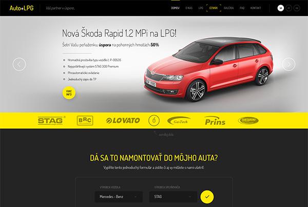 Auto + LPG Website
